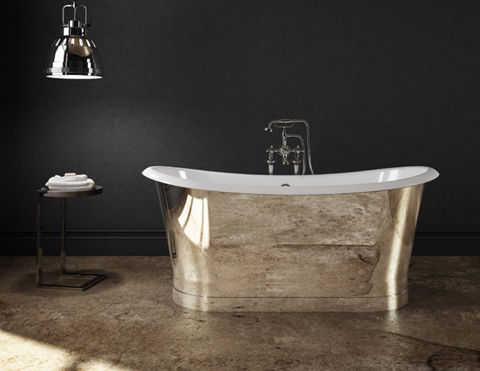 CAST IRON MIRROR BATHTUB SLIK PORTFOLIO2