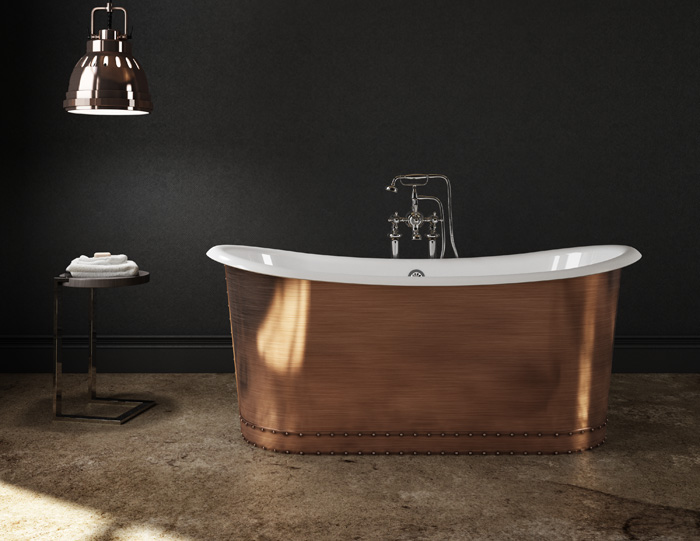 Cast Iron Copper Bathtub Slik Portfolio