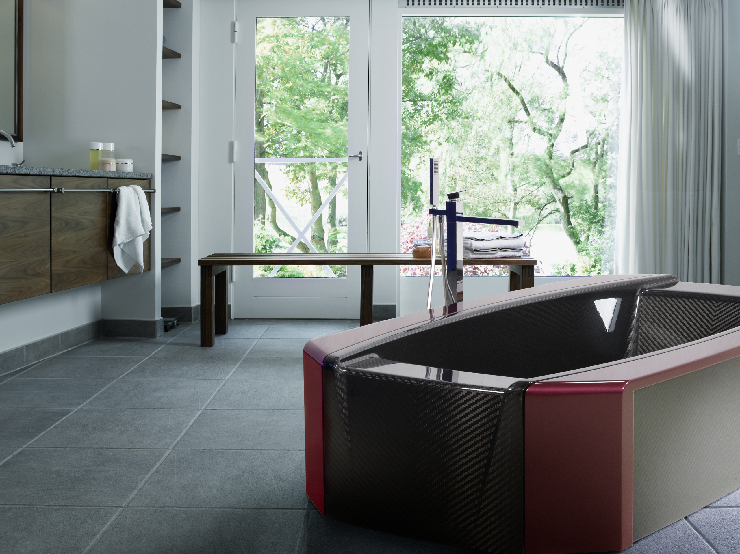 CORCEL Carbon Fiber Bathtub Virgo