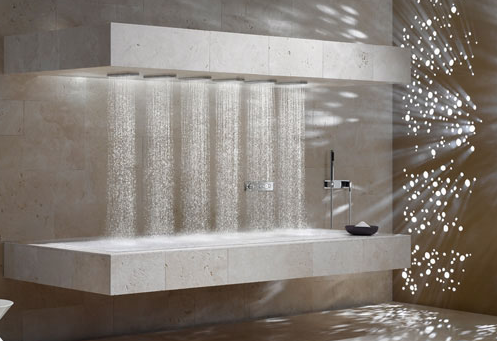 dornbracht horizontal shower the panday group. Black Bedroom Furniture Sets. Home Design Ideas