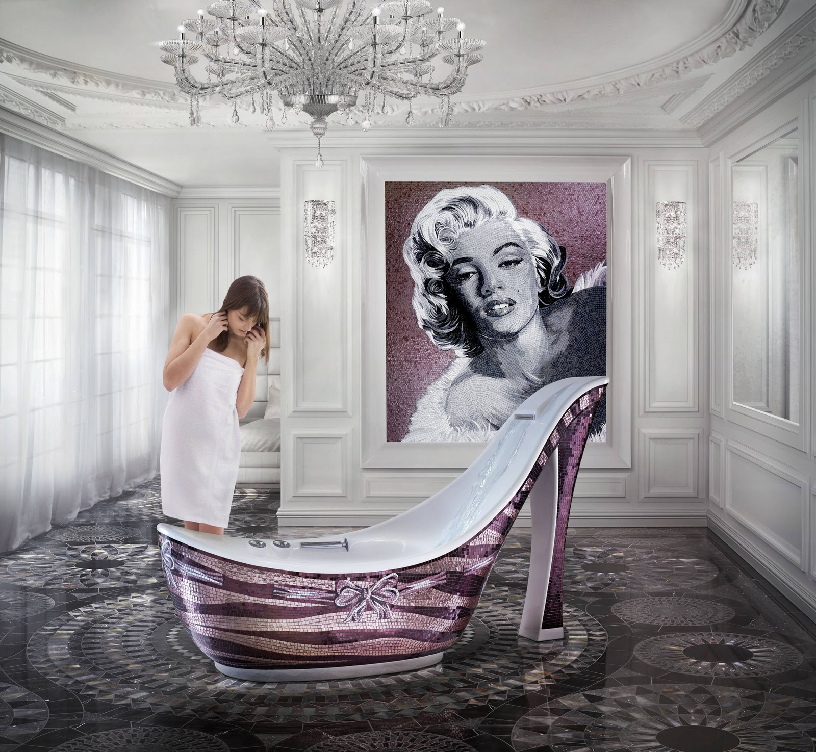 Stiletto Bathtub 2