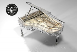 Luxury Crystal Piano